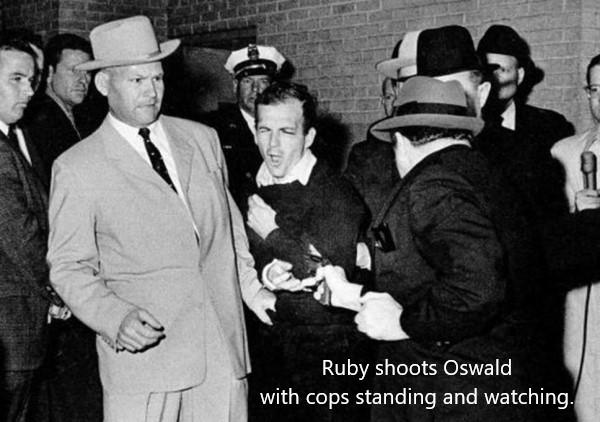 Ruby shoots Oswald