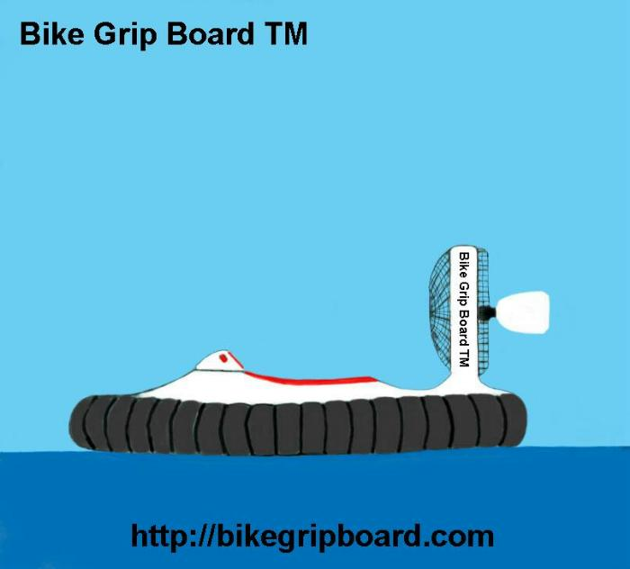 Hovercraft Bike Grip Board