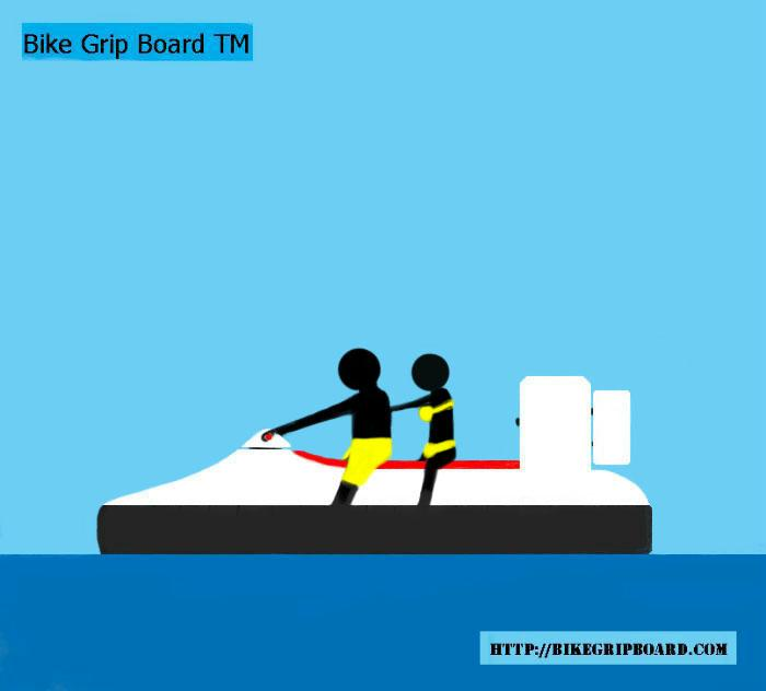 Hovercraft with riders