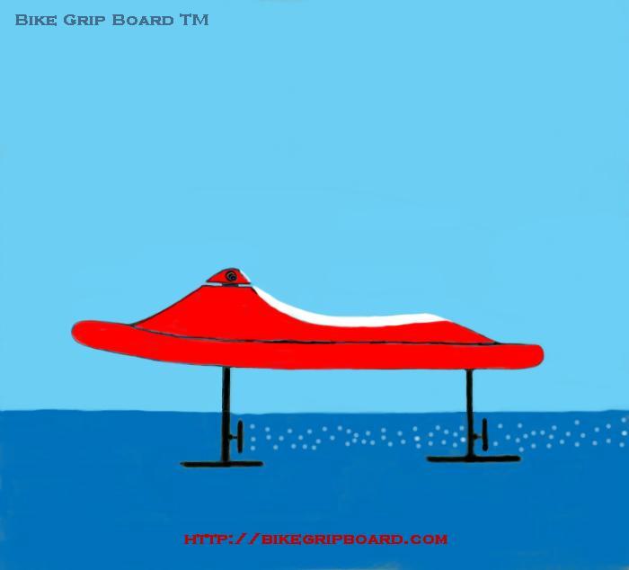 Hydrofoil Bike Grip Board