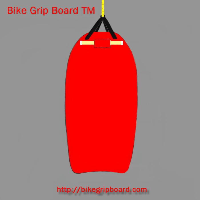 towable, bike grip board
