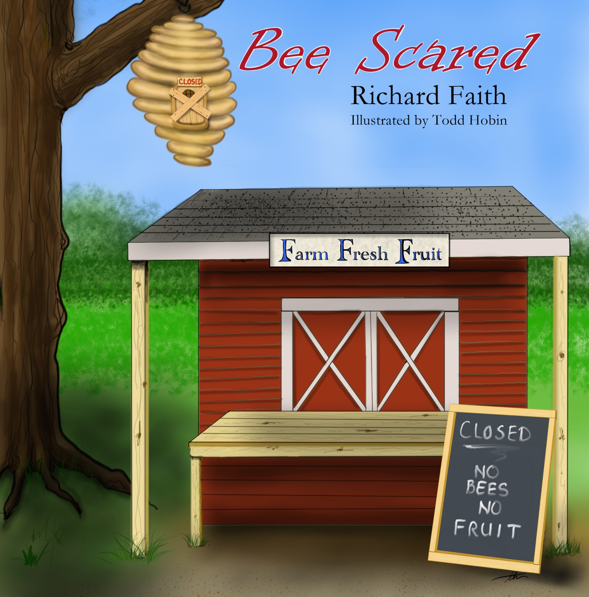 Bee Scared Cover