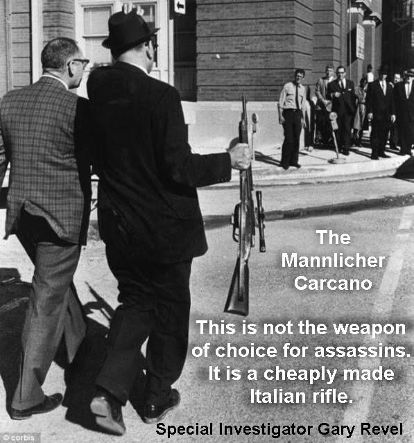 carcano rifle that was not used to kill JFK