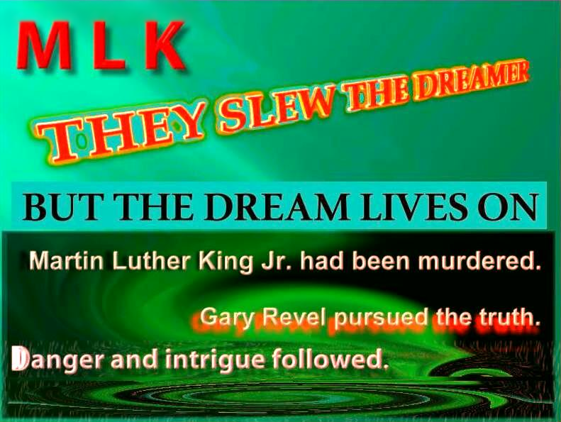 logo for movie presentation of MLK They Slew the Dreamer motion picture  development project
